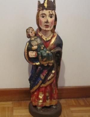 Virxe co neno. Ourense