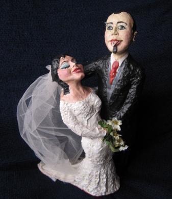 Pablo e Nuria (Bonecos para vodas)