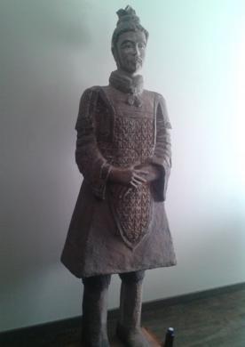 Guerreiro de Siam (Escultura)