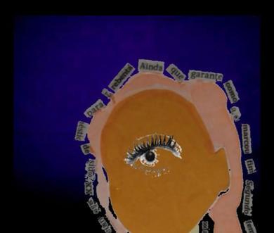 Fotograma da peza de video 'Etiquétame'.