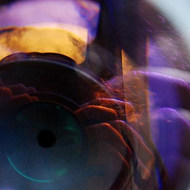 Un ollo meu. Fotografía.