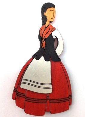 Raíces. Colección realizada en Madeira de Aliso