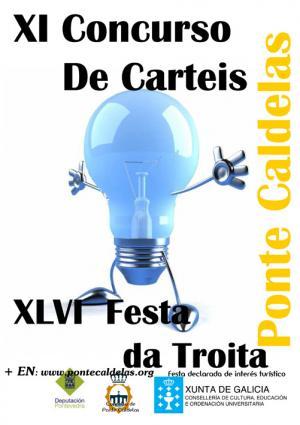 CARTELES DE LA FESTA DA TROITA 2012